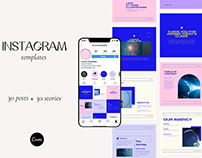 Modern & Colorful Instagram Templates