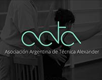 LOGO ID /AATA-Asociación Argentina de Técnica Alexander