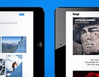 Website Redesign - Heye GmbH