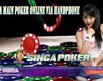 Cara Main Poker Online Via Handphone