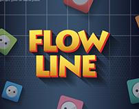 FLOW LINE game UI