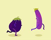 Eggplant Marathon GIF