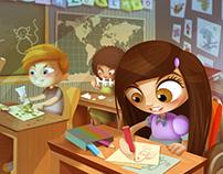 Sara & Hala - Published Children's Book