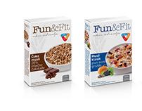 FUN&FIT - packaging rebranding, proposal