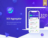 TRICO - ICO Aggregator, Website + Mobile App