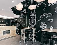 Stock Coffee Wall art