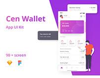 Cen Wallet App UI Kit