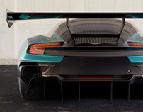 Aston Martin Vulcan - CGI