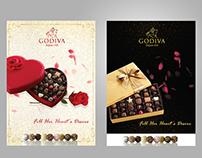 Godiva Valentine's Chocolate Adv Campaign
