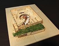 Museum Wood Model_Fall 2017