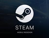 Steam Mobile Redesign