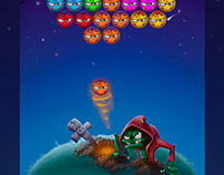 """Graphics for the mini game """"Zombie Bubble Shooter """""""