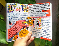 Another travel notebook. Vietnam 2009