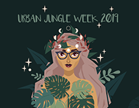 Urban Jungle Week Art challenge 2019