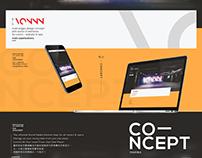 Vonnn - website & app concept design