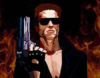 Terminator 1984 - Digital Painting - Photoshop