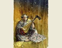 "Japanese folk tale ""Hoichi the Earless """