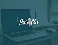 Purfin Logo Design