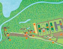 Map for Bogdarnya/ Карта для Богдарни