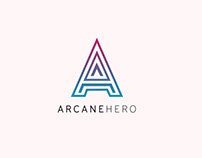 Arcane Hero Branding
