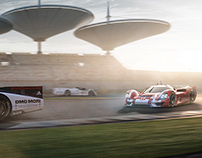 Porsche 908-04 RSR Vision GT and fivesphere backgrounds
