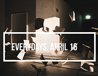 everydays. april 16