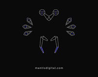 Mantis Digital_Brand identity & Web Development