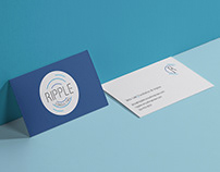 Brand identity for Ripple Consulting