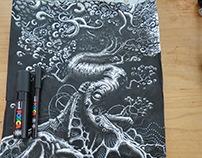 Overgrown sketch