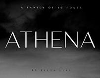 Athena Sans | Free Font