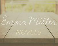 Emma Miller Novels Visual Identity & Web Design