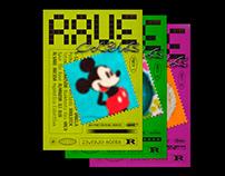 RAVE CLUB. Poster series
