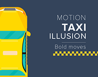 Taxi illusion - Motion Graphic