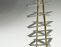 Collapsing Rhombuses in Tin Plated Steel
