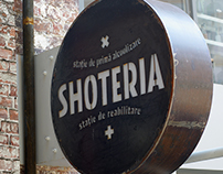 Shoteria : alcohol & rehab station — Visual Identity