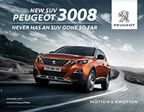 Campaign Worldwide Peugeot 3008