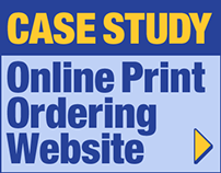 Case Study: Online Print Ordering Website