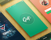 Apps Design - Galf, Cingle & Oh My Grove!