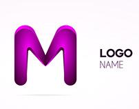 M concept logo