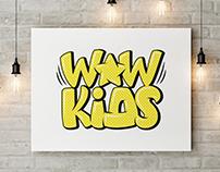 Logo Creation Process - Wow Star Kids