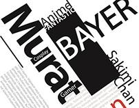 Tipografik afiş