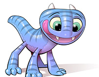 Ai on iPad : Baby Dragon