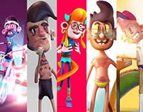 3d Characters V1