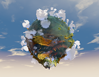 Landscapes - various landscapes in Cinema4D