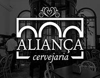 Logotipo Aliança Cervejaria - non official