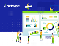 Netwise - CRM Solution Company Website