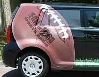 The Fan Sports Radio Vehicle Design