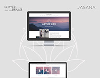 Webdesign - yoga and wellbeing