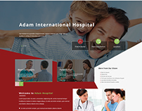 Adam International Hospital Homepage