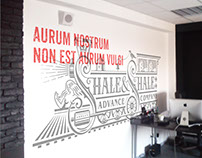 Shale & Shale Lettering and Typography